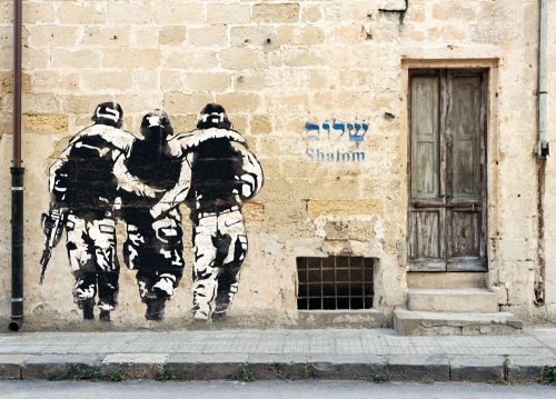 Shalom, Street Art Haifa