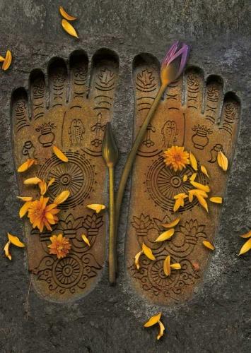 Buddhas Footprints II