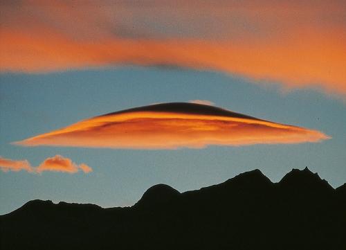 Cloud over Himalayan Mountain