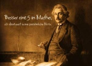 Besser eine 5 in Mathe...