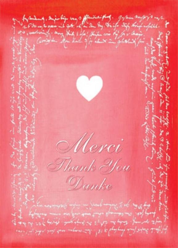 Merci/Thank You/Danke
