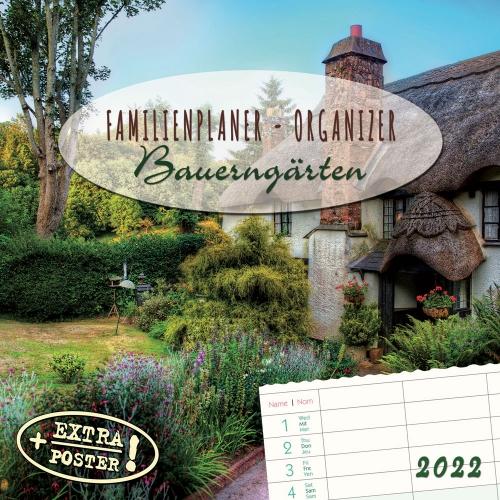 Familienplaner Bauerngärten 2022