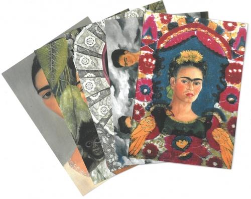 Postcard set Frida Kahlo 1