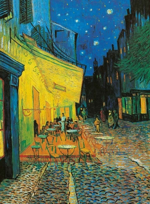 Vincent van Gogh - Cafe d-Arles