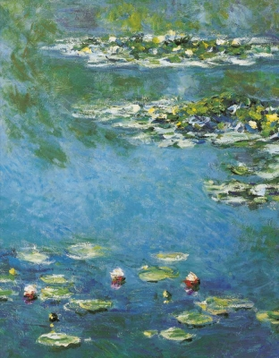 Monet The Water Lily Pond