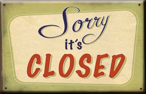Sorry its closed
