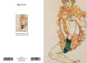 Egon Schiele - The Green Stocking