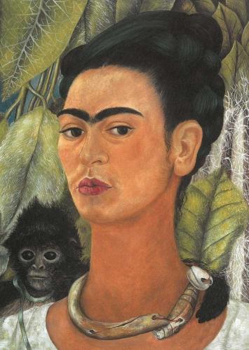 Frida Kahlo - Self-Portrait with Monkey