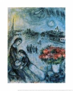 Marc Chagall - An artist and his bride