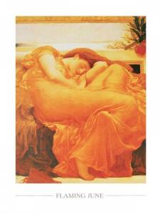 Frederik Lord Leighton - Flaming June