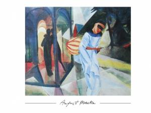 August Macke - Pierrot