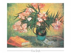 Vincent van Gogh - Stilllife, Oleanders and books