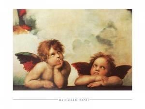 Raffaello Santi - Sixtinische Madonna (Section)