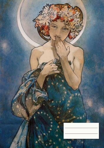 Alphonse Mucha - The Moon