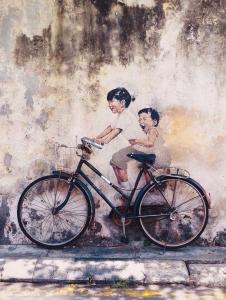 Streetart - Fahrrad