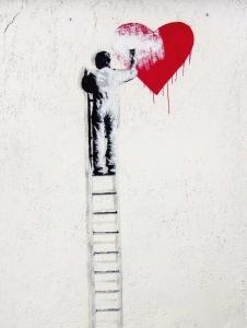 Streetart - Heart