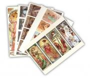 Postkartenset »Alfons Mucha« 1
