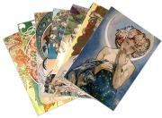 Postkartenset »Alfons Mucha« 2