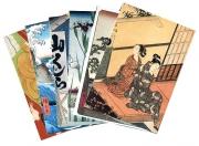Postkartenset »Japan-Holzschnitt« 2