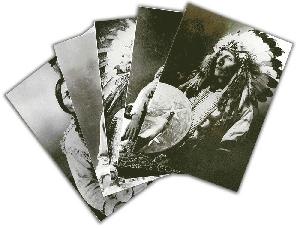 Postkartenset »Indianer« 1