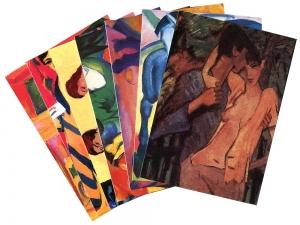 Postkartenset »Expressionismus«