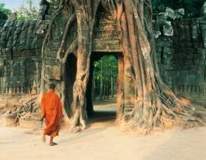 Angkor entrance of the Ta Som