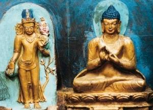 Buddha and the Goddess