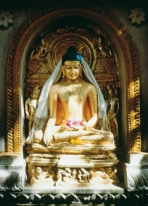 Golden Buddha at Bodh
