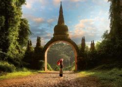 Landscape, Dharma Park, Tailand