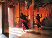 Monks Dancing, Buthan