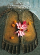 Buddhas Footprint in Bodha Gaya