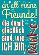 An all' meine Freunde! DANKE