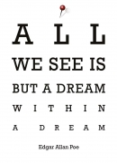 All we see is...
