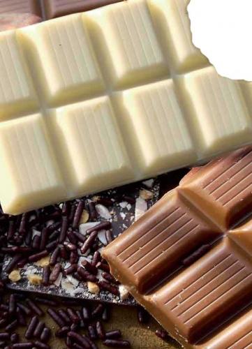 Schokoladenstücke