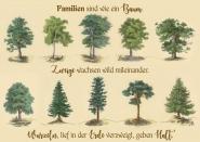 Familien sind wie ein Baum
