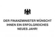 Der Finanzminister...