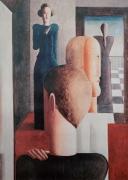 Oskar Schlemmer - Vier Figuren im Raum