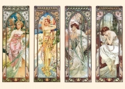 A.M. Mucha - The times of the day
