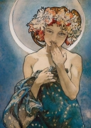 A.M. Mucha - The Moon