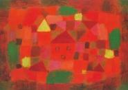 Paul Klee  - Landscape at Sunset  1923