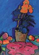 Alexej von Jawlensky - Still Life with Begonia