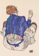 Egon Schiele - Seated Woman