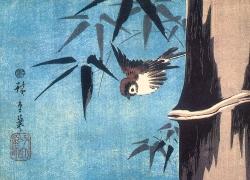 Hokusai - Plum Blossom and the Moon
