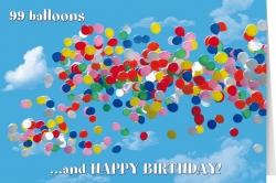 99 balloons ....