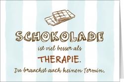 Schokolade ist viel besser