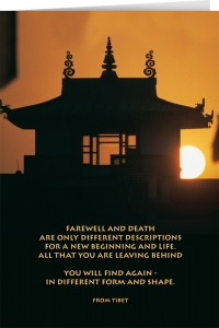 Farewell and Death ...