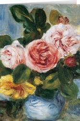 Auguste Renoir  Roses in a Vase ( c.1900)