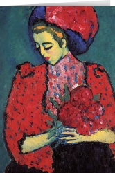 Alexej von Jawlensky - Young Girl with Peonies