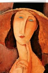 Amedeo Modigliani - Portrait of Jeanne Hébuterne