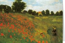 Claude Monet - Promenade in Argenteuil (1873)